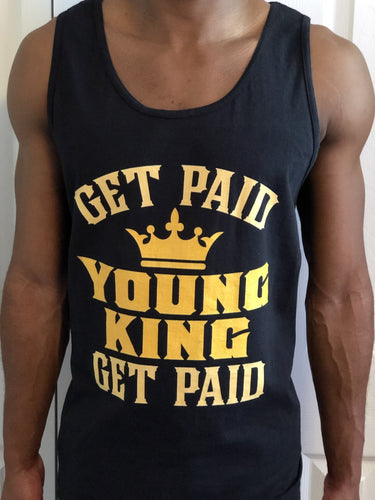Chocolate Ancestor, LLC- Get Paid Young King Get Paid Men's Tank top ${varant_title} Men's Tank Top