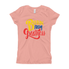 Born from Greatness Girl's T-Shirt - Chocolate Ancestor