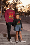 I Am Black History Unisex Long sleeve t-shirt - Chocolate Ancestor
