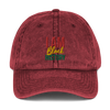 I Am Black History Unisex Vintage Cotton Twill Cap - Chocolate Ancestor