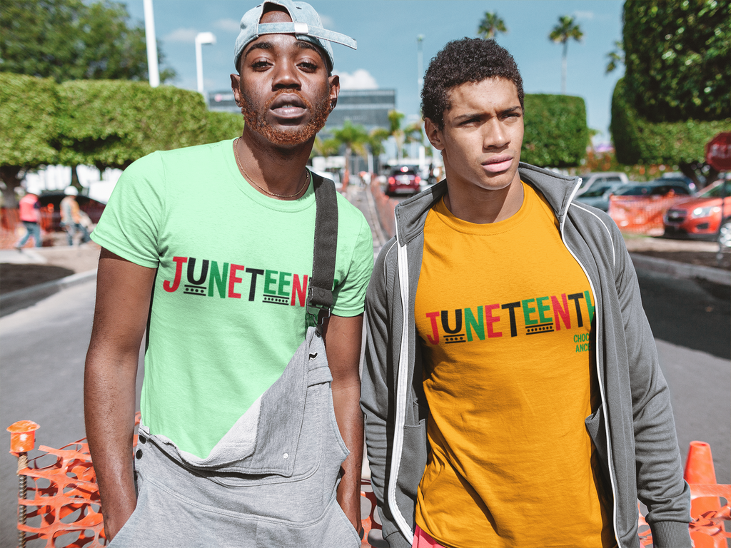 Juneteenth RBG Short-Sleeve Unisex T-Shirt