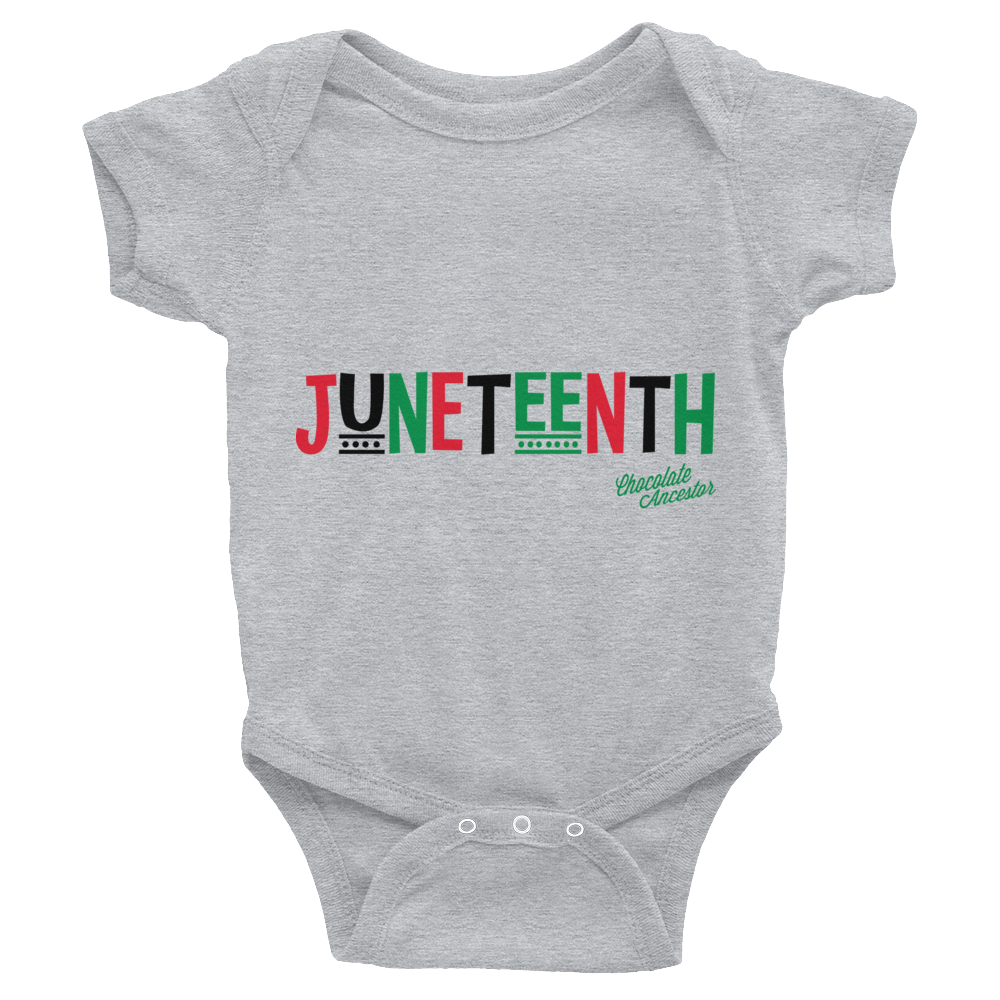 Chocolate Ancestor, LLC- Juneteenth RBG Infant Bodysuit ${varant_title} Infant one-piece