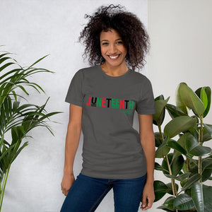 Chocolate Ancestor, LLC- Juneteenth RBG Short-Sleeve Unisex T-Shirt ${varant_title} Unisex T-shirt