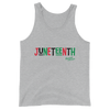 Juneteenth RBG Unisex Tank Top - Chocolate Ancestor