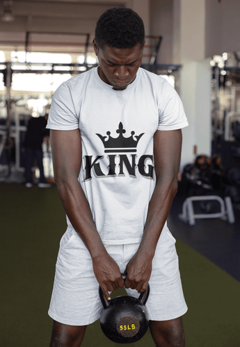 Chocolate Ancestor, LLC- King w/ Crown (Black) Short-Sleeve Unisex T-Shirt ${varant_title} Men's T-Shirt