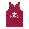 King w/ Crown Tank top - Chocolate Ancestor
