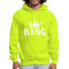 King w/ Crown Unisex Hoodie (Style 2) - Chocolate Ancestor