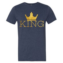 Load image into Gallery viewer, Chocolate Ancestor, LLC- King w/crown Men's Short sleeve t-shirt ${varant_title} Men's T-Shirt