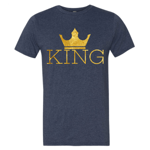 Chocolate Ancestor, LLC- King w/crown Men's Short sleeve t-shirt ${varant_title} Men's T-Shirt