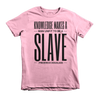 Knowlege Makes a Man Unfit to be a Slave Short sleeve kids t-shirt - Chocolate Ancestor