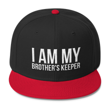 Load image into Gallery viewer, Chocolate Ancestor, LLC- I Am My Brother's Keeper Wool Blend Snapback ${varant_title} Snapback Hat