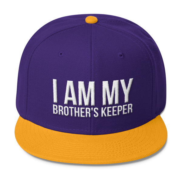 I Am My Brother's Keeper (3D Puff) Wool Blend Snapback