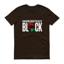 Load image into Gallery viewer, Chocolate Ancestor, LLC- Unapologetically Black RBG Unisex Short sleeve t-shirt ${varant_title} Unisex T-shirt
