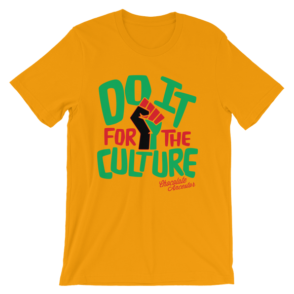 Chocolate Ancestor, LLC- Do it for the Culture Short-Sleeve Unisex T-Shirt ${varant_title}