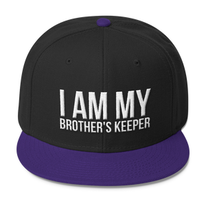 Chocolate Ancestor, LLC- I Am My Brother's Keeper Wool Blend Snapback ${varant_title} Snapback Hat
