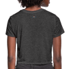 No Justice No Peace Women's Crop Top (Style 2) - Chocolate Ancestor