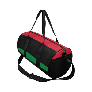 Chocolate Ancestor, LLC- Pan African RBG Flag Afrocentric Waterproof Travel Duffel Bag ${varant_title} Duffel Bag