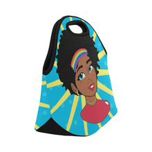 Load image into Gallery viewer, Chocolate Ancestor, LLC- Pop Starburst Diva Lunch Bag ${varant_title} Lunch Bag