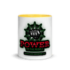 Power to the People Mug with Color Inside - Chocolate Ancestor