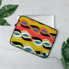 Psychedelic Vibez Laptop Sleeve - Chocolate Ancestor