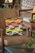 Load image into Gallery viewer, Chocolate Ancestor, LLC- Psychedelic Vibez Pillow ${varant_title} Pillow
