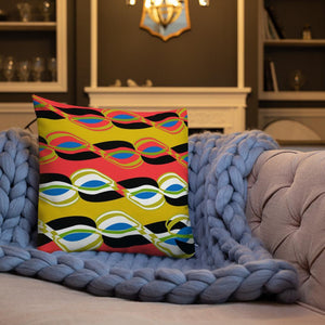 Chocolate Ancestor, LLC- Psychedelic Vibez Pillow ${varant_title} Pillow