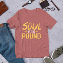 Load image into Gallery viewer, Chocolate Ancestor, LLC- Soul by the Pound Short-Sleeve Unisex T-Shirt ${varant_title}