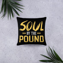 Load image into Gallery viewer, Chocolate Ancestor, LLC- Soul by the Pound Square Pillow ${varant_title} Square Pillow