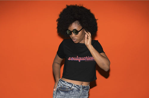 Chocolate Ancestor, LLC- Soulquarian Women's Crop Top ${varant_title}
