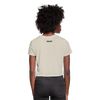 Black Business Owner Women's Crop Top (Style 2) - dust