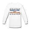 Nobody's Free Until Everybody's Free Fannie Lou Hamer Kids' Long Sleeve T-Shirt - white