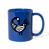 Sankofa Bird Full Color Mug - royal blue