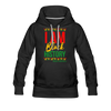 I Am Black History Women's Premium Hoodie - black