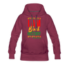 I Am Black History Women's Premium Hoodie - burgundy