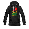 I Am Black History Women's Premium Hoodie - charcoal gray