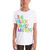 The Black Family Matters Youth Short Sleeve T-Shirt - Chocolate Ancestor