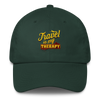 Travel is my Therapy Cotton Cap - Chocolate Ancestor