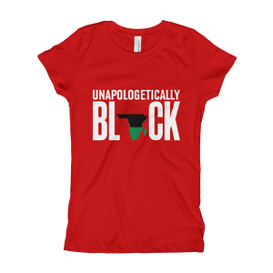 Chocolate Ancestor, LLC- Unapologetically Black RBG Girl's T-Shirt ${varant_title}
