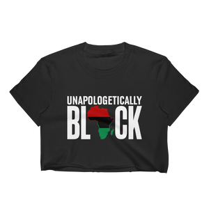 Chocolate Ancestor, LLC- Unapologetically Black RBG Ladies Crop Top ${varant_title}
