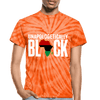 Unapologetically Black RBG Unisex Tie Dye T-Shirt - Chocolate Ancestor