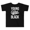 Young Gifted & Black Toddler Short Sleeve Tee - Chocolate Ancestor