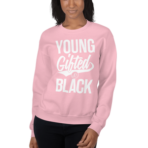 Chocolate Ancestor, LLC- Young Gifted & Black Unisex Sweatshirt ${varant_title} Unisex Sweatshirt