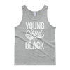 Young Gifted & Black Unisex Tank top - Chocolate Ancestor