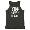 Young Gifted & Black Youth Tank Top - Chocolate Ancestor