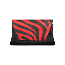 Load image into Gallery viewer, Chocolate Ancestor, LLC- Zebra Stripes Leather Clutch Bag ${varant_title} Leather Clutch Bag