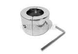 Stainless Steel Locking Ball Testicle Stretcher with Allen Key 2050-A