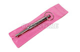 "4.5"" Long Vibrating Urethral Sounds w/ 10mm Thick Ball Tip with Battery"