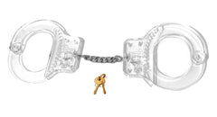 Adjustable Novelty Transparent Handcuffs