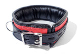 Lockable Bondage Collar with Chain Leash