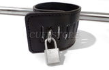 Adjustable Swiveling Spreader Bar with Wrist & Ankle Cuffs with Padlocks